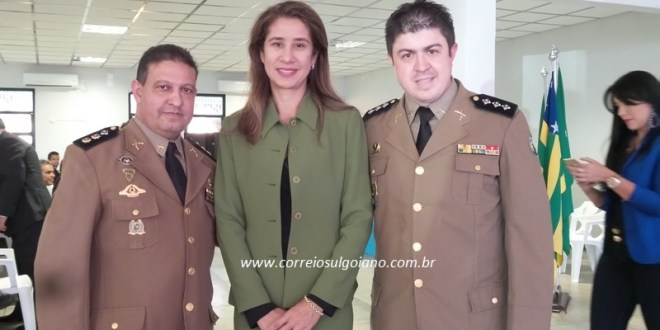 Capitão PM Weslei assume comando da 10ª Companhia Independente da Polícia Militar em Morrinhos