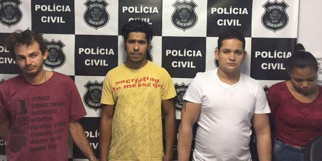 Polícia Civil realiza flagrante, prende suspeitos e apreende grande quantidade de Crack, em Morrinhos