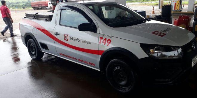 Funcionário da Triunfo Concebra e motorista de caminhão são mantidos reféns durante ação de roubo na BR-153