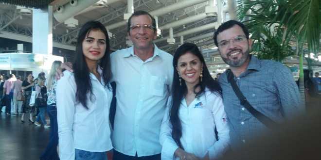 Morrinhos no 34º Congresso de Secretarias Municipais de Saúde e 6º Congresso Norte e Nordeste de Secretarias Municipais de Saúde, em Belém do Pará