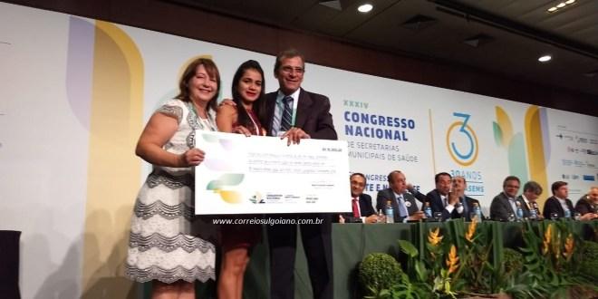 Prêmio Nacional em Saúde Pública: Morrinhos venceu mais uma premiação nacional, com projeto de fisioterapia!