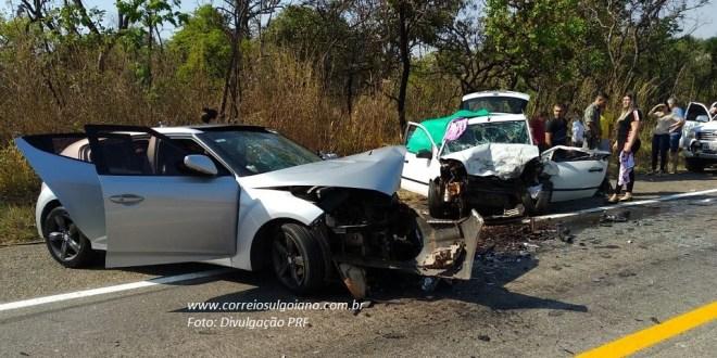 04 mortes em 03 acidentes na Operação Independência da PRF em Goiás, até sexta-feira dia 07