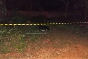 HOMICÍDIO – Homem é morto a tiros em Morrinhos. Dois homens em moto chegaram e atiraram – informou a PM