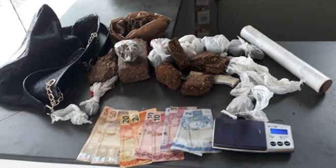 Polícia Militar age rápido e apreende drogas, em Morrinhos após receber denúncia anônima via 190