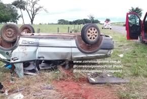 TRÂNSITO: Criança ferida em acidente no domingo, 14/04, segue se recuperando em Hospital de Goiânia
