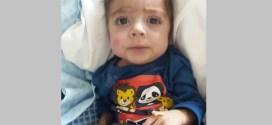O pequeno Bryan está na UTI do Hospital Beneficência Portuguesa em São Paulo. Oremos para que ele fique bom logo!