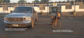 PM EM AÇÃO: Recebidos a tiros pelos suspeitos, policiais militares da 10ª CIPM de Morrinhos recuperam caminhonete e moto roubadas