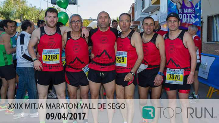 XXIX Mitja Marató a la Vall de Segó