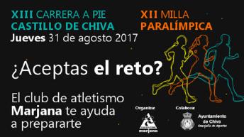 XIII Carrera a pie Castillo de Chiva y la Milla Paralímpica