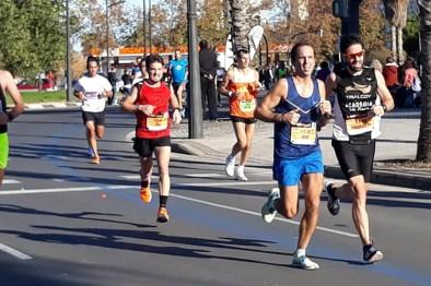 correores maraton valencia 2018-2
