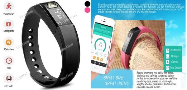 Bluetooth Smart Bracelet Waterproof Sports Calculation