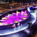 Nike constrói pista totalmente futurista nas Filipinas