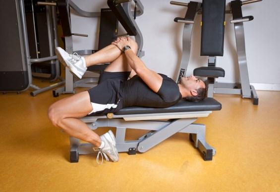 flexão perna