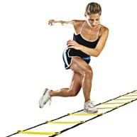 saltos laterais com ladder