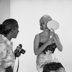 USA. Marilyn MONROE during the filming of 'The Misfits'. 1960. (c)Eve Arnold for AP