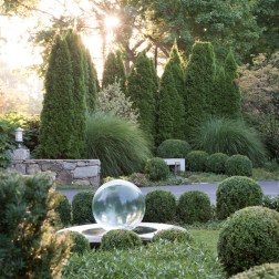 SPHERE FOUNTAIN GARDEN