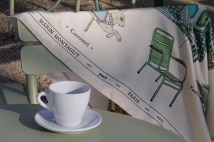 Criações do artista Marin Montagut inspiradas na exposição Jardins, em cartaz no Grand Palais