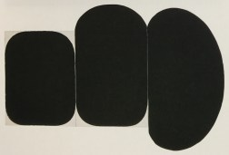 "Gary Kuehn ""Black painting, 1973"""