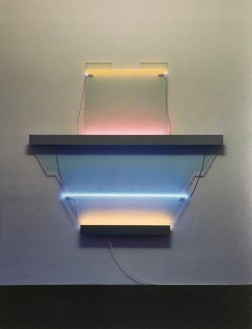 "Keith Sonnier ""Space arc Shelf"""