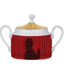 Sugar bowl Silhouette Don Giovanni