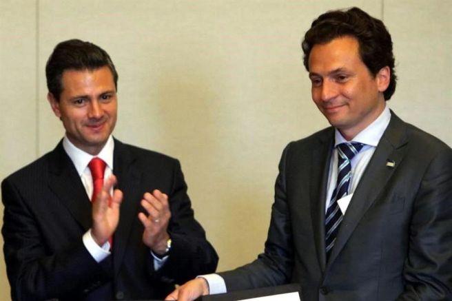 Enrique Peña Nieto y Emilio Lozoya
