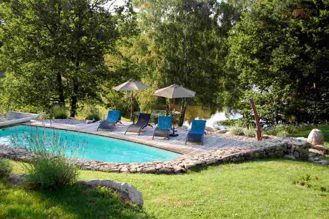 Swimming Pool at Correze Cycling