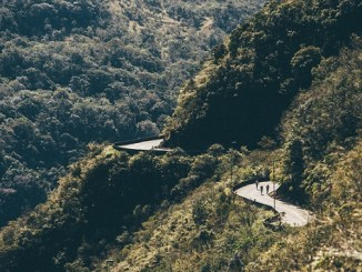 Corredores na Serra do Rio do Rastro durante a Mizuno Uphill Marathon