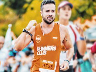 Igor Helal no último quilõmetro dos seus 63 do Desafio Cidade Maravilhosa