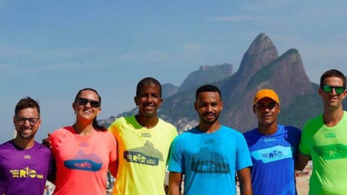 Camisas da Maratona do Rio