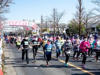 Largada da Maratona Feminina de Nagoya. Duas semanas após a prova, nenhum caso de Covid-19. (Divulgação)