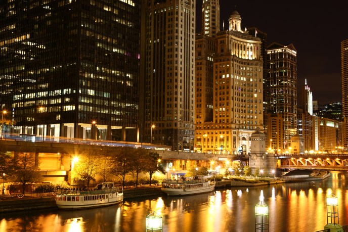 Riverside Downtown Chicago / USA