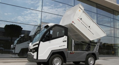 Alkè XT veicolo commerciale elettrico rifiuti