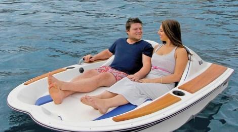 barca elettrica due posti