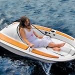 barca elettrica un posto