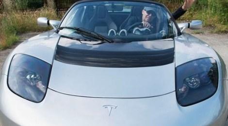 Vasco Rossi Tesla Roadster