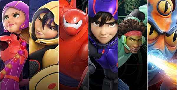 Big Hero 6 Character Banner