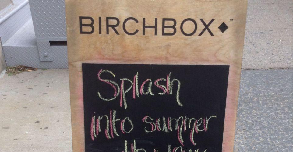 Kick Off Summer with Birchbox