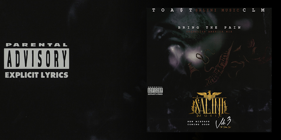 """Charly La Melma and Toa$t launch """"Bring the Pain"""" and announce Vol 3 from Salini Music"""