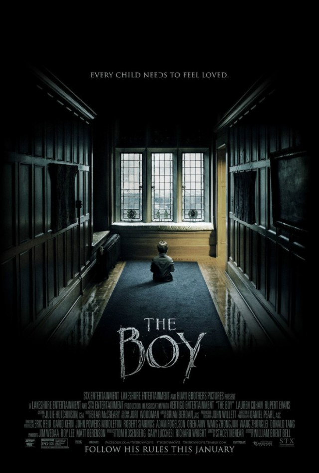 The Boy OneSheet