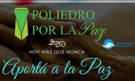 """El evento que celebra la paz en Argentina  """"Poliedro por la Paz"""""""