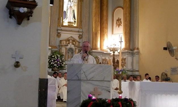 Décimo aniversario del Arzobispo de Corrientes Mons. Andres Stanovnik