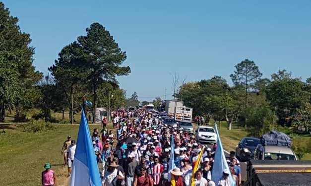 118 Peregrinación de los Tres pueblos a Itatí para celebrar su centenario como patrona de Corrientes