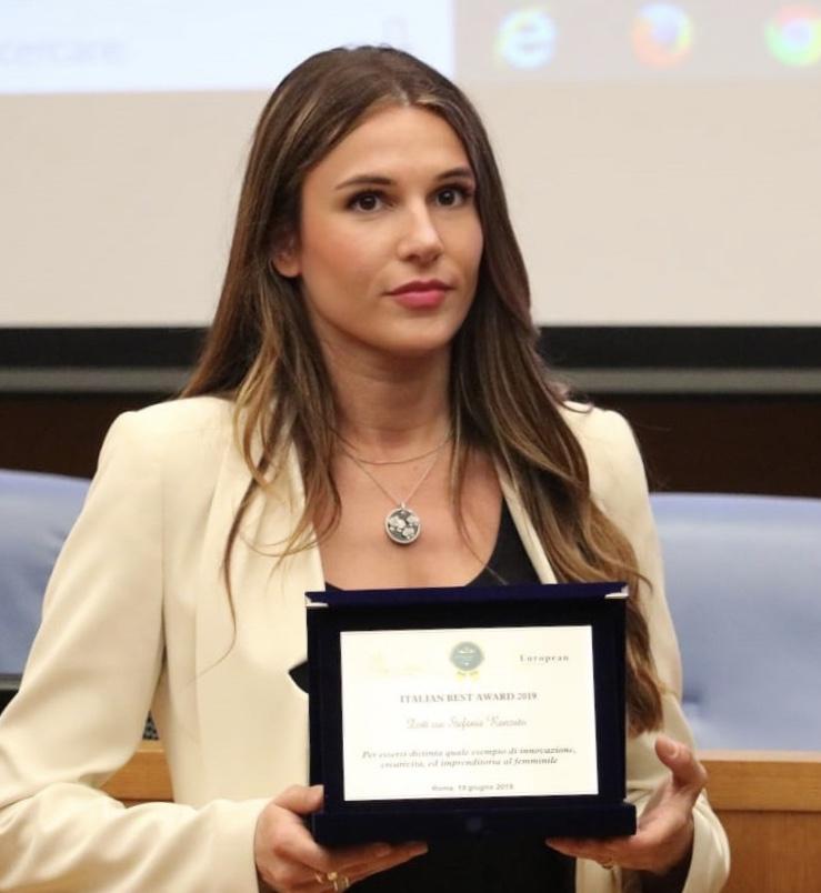 L'Italia del Merito: premiata alla Camera Dei Deputati  l'imprenditrice D.ssa Stefania Ranzato