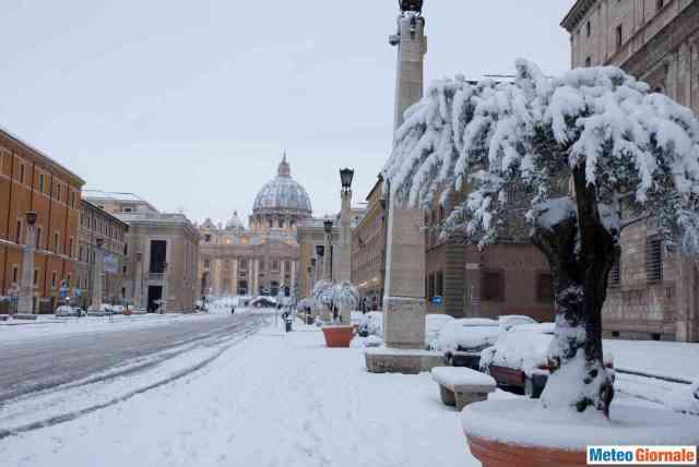 immagine 1 articolo neve roma marzo ecco tutti gli eventi successi
