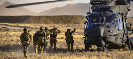 Afghanistan ritiro contingente italiano