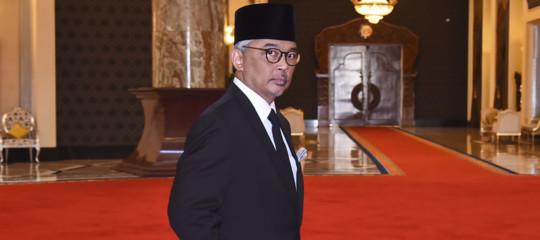 nuovo re malesia