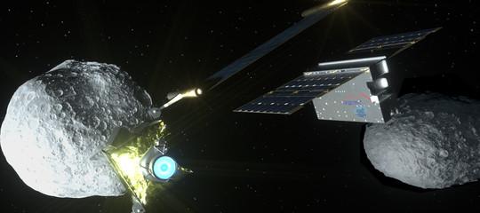 deviare rotta asteroide