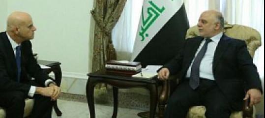 Descalzi(Eni) ha incontrato a Baghdad il ministro del Petrolio iracheno
