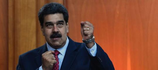 """Gli Usasanzionanofunzionari vicini a """"ex presidente""""Maduro"""