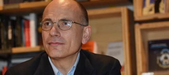"""""""Il reddito di cittadinanza è nel Dna del centrosinistra"""", dice Enrico Letta"""